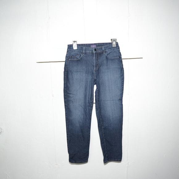 NYDJ Denim - NYDJ womens capris size 4 -7054-